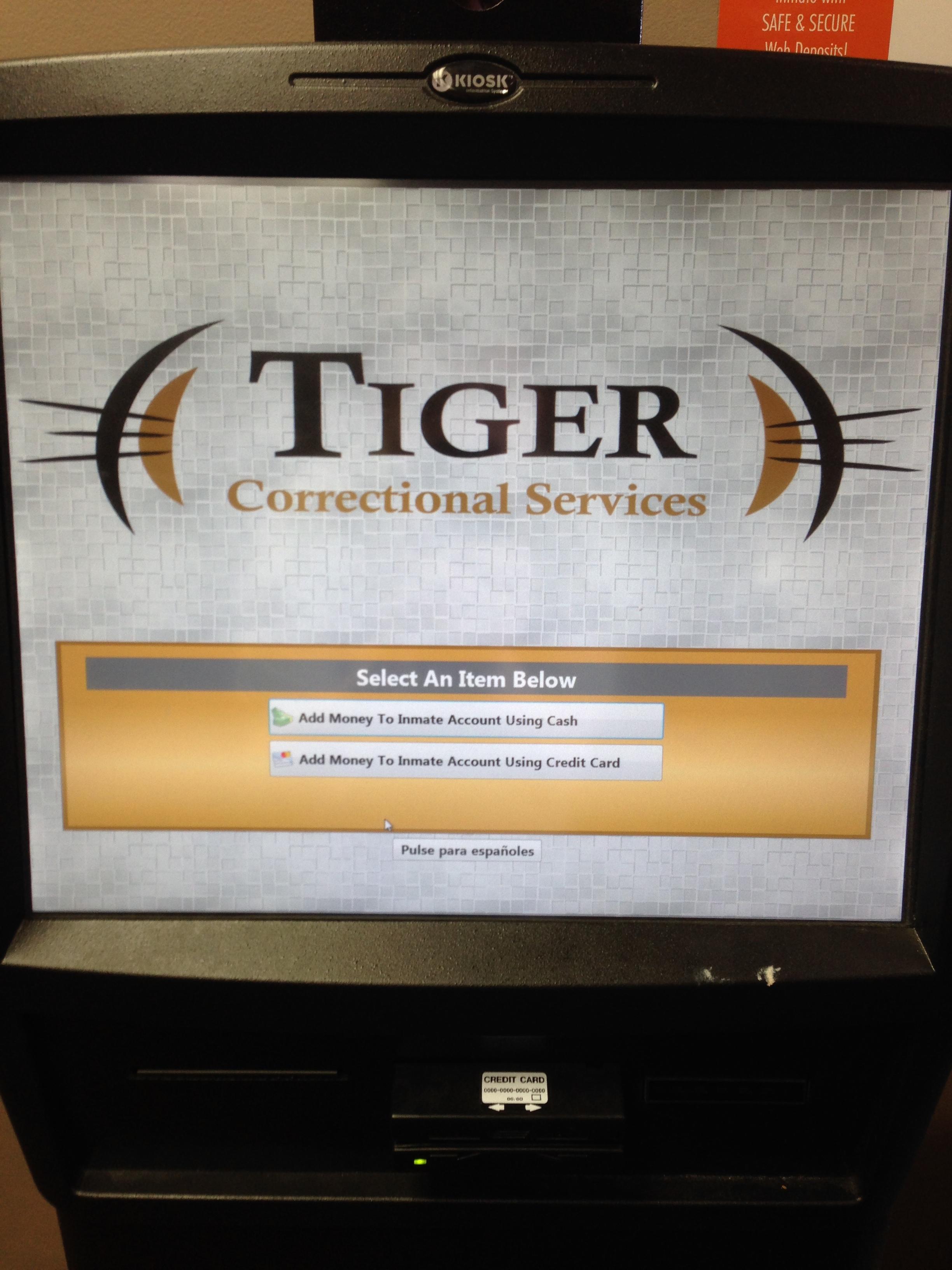 Tiger Kiosk